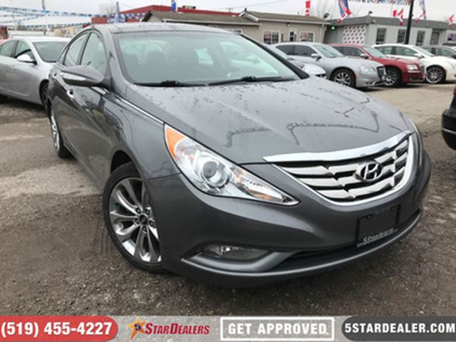 2013 HYUNDAI SONATA 2.0T Limited   NAV   LEATHER   ROOF   CAM in London, Ontario