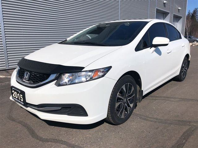 2015 HONDA CIVIC EX-HONDA PLUS EXTENDED WARRANTY INCLUDED in Thunder Bay, Ontario