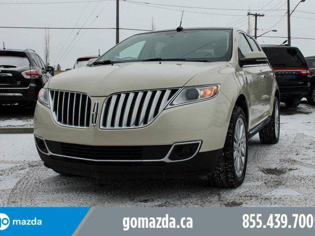 2014 LINCOLN MKX NAV, PANO ROOF, LEATHER in Edmonton, Alberta