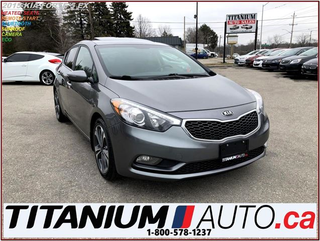 2015 KIA FORTE EX+Camera+Sunroof+Heated Seats+Remote Start+XM+B.T in London, Ontario