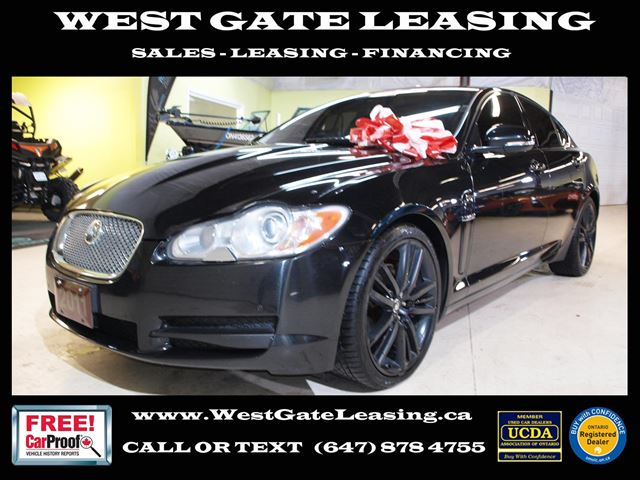 2011 JAGUAR XF 5.0L V8  UPGRADES  NAVI  CAMERA  in Vaughan, Ontario