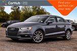 2015 Audi A3 2.0T Progressiv Sunroof Bluetooth Heated Front Seats Leather 18Alloy Rims in Bolton, Ontario