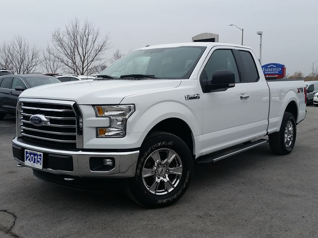 2015 FORD F-150 XTR-SUPERCAB-4X4-5.0L-NAVIGATION in Belleville, Ontario