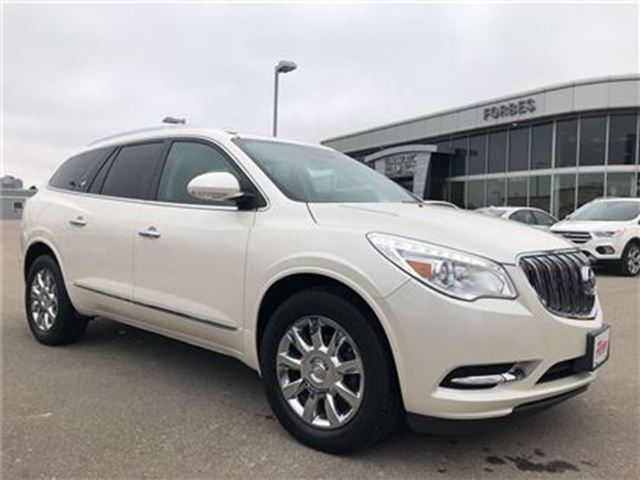 2013 BUICK ENCLAVE LEATHER PACKAGE \ NAV \ AWD \ 1 OWNER \ in Waterloo, Ontario