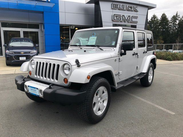 2010 JEEP Wrangler Unlimited Sahara in Victoria, British Columbia