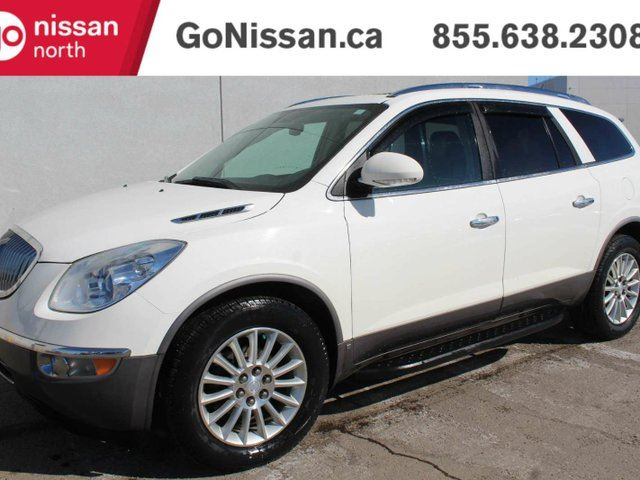 2010 BUICK ENCLAVE CXL-1, AWD, TOP MODEL, REAR DVD, NAVIGATION, LEATHER, SUNROOF. in Edmonton, Alberta