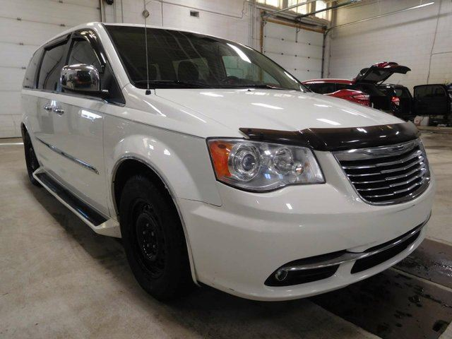 2011 CHRYSLER TOWN AND COUNTRY Touring Wagon, DVD, Leather in Calgary, Alberta