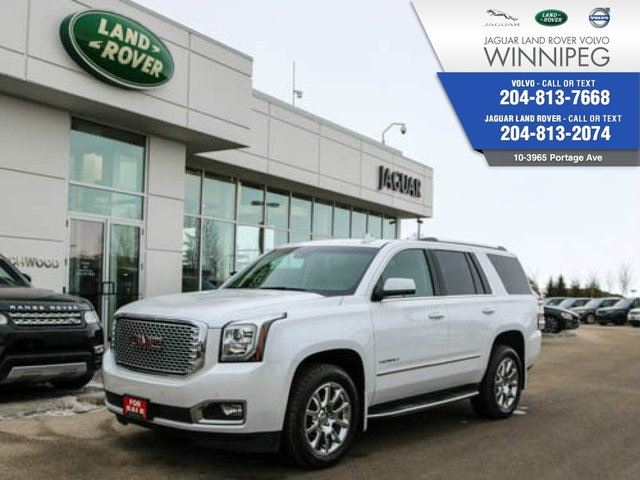 2017 GMC YUKON Denali *DENALI* *LOADED* Extra Winter Tires too! in Winnipeg, Manitoba
