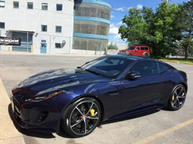 2017 JAGUAR F-TYPE R AWD in Mississauga, Ontario