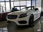 2018 Mercedes-Benz C-Class C300 4matic Cabriolet in Mississauga, Ontario