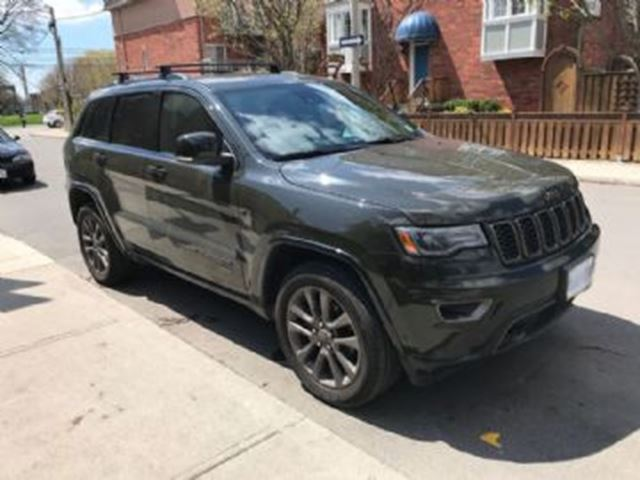 2017 JEEP Grand Cherokee 4WD 4dr Limited 75th Anniversary in Mississauga, Ontario