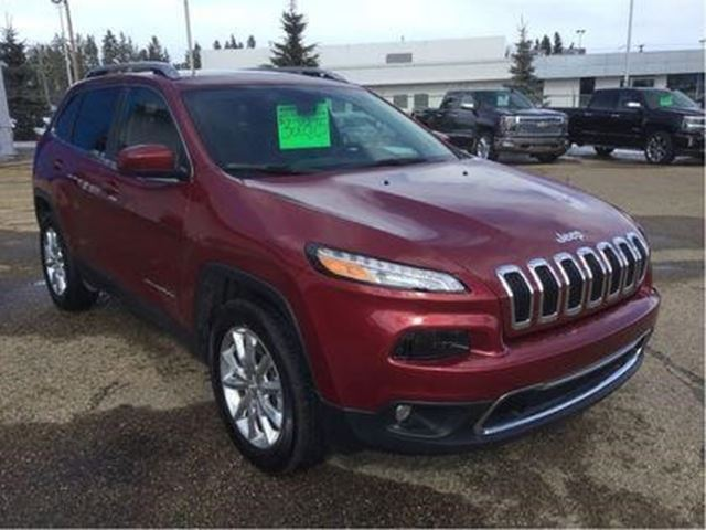 2017 Jeep Cherokee Limited in Wetaskiwin, Alberta