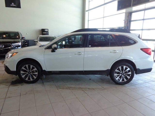 2016 SUBARU OUTBACK 3.6R Limited Package - Heated Leather Seats, Sunroof, B/U Cam, NAV in Red Deer, Alberta