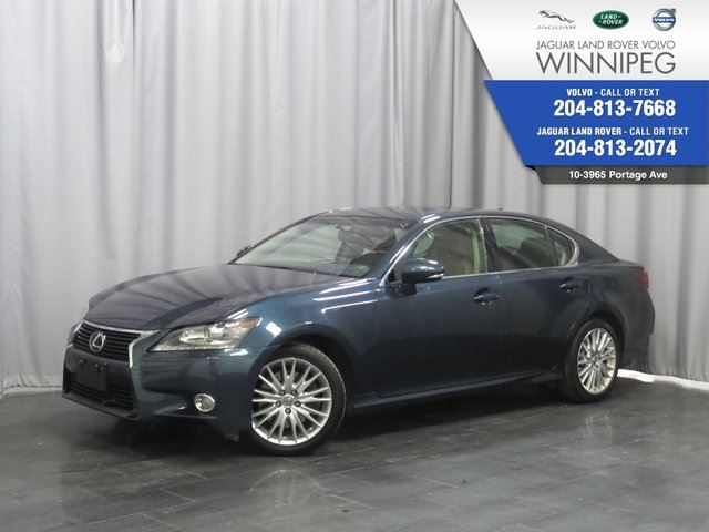 2013 LEXUS GS 350 4dr Sdn AWD *LOCAL ONE OWNER TRADE* in Winnipeg, Manitoba