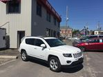2016 Jeep Compass North LEATHER HEATED SEATS/ 4X4/ SUNROOF in Brockville, Ontario