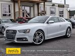 2014 Audi S5 TECHNIK, NAPPA LEATHER, NAVIGATION, PANO ROOF in Ottawa, Ontario