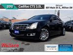 2010 Cadillac CTS 3.0L/SPORT PKG/SUNRF/LTHR/HTD SEATS/CLN HSTRY in Milton, Ontario