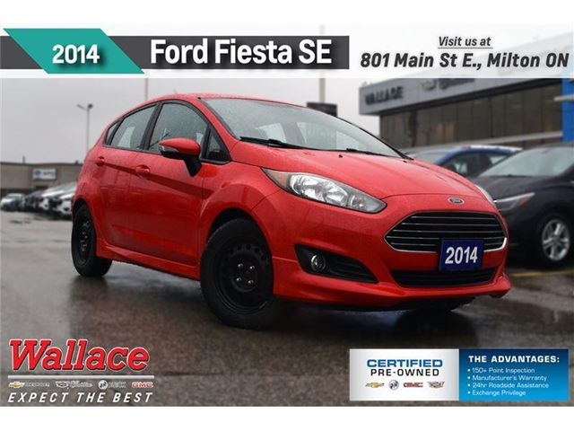 2014 Ford Fiesta SE/1-OWNR/CLEAN HSTRY/NAV/BLUETH/AC/6-SPKR in Milton, Ontario