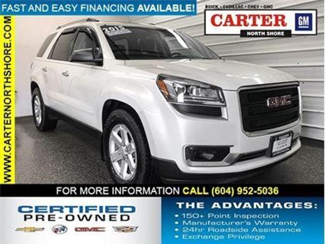 2015 GMC ACADIA SLE in North Vancouver, British Columbia
