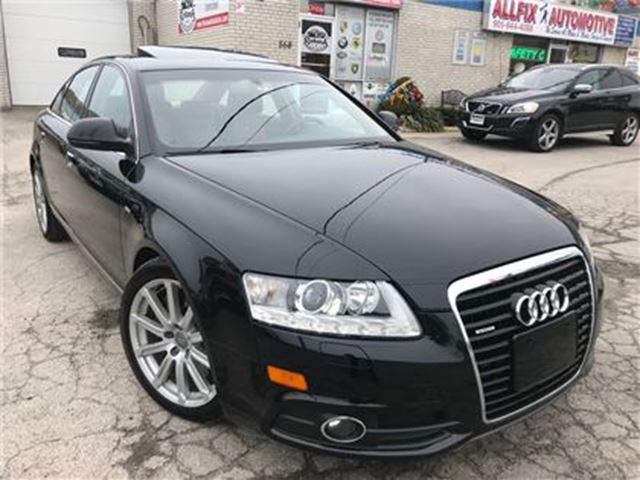 2010 AUDI A6 3.0 Special Edition w/Backup Camera_Sunroof in Oakville, Ontario