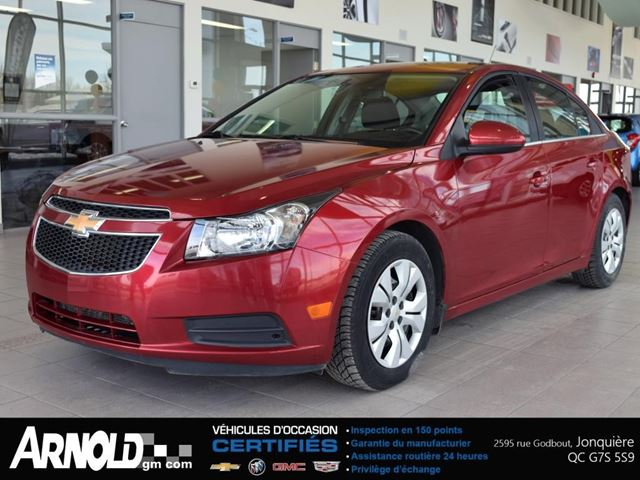 2014 Chevrolet Cruze 1lt Arnold Chevrolet Buick Gmc Cadillac Inc