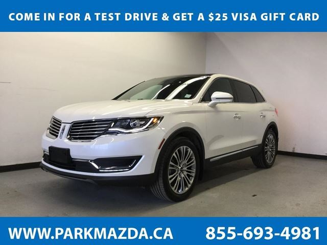 2016 LINCOLN MKX Reserve in Sherwood Park, Alberta