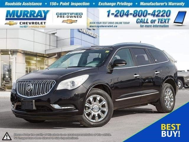 2013 BUICK ENCLAVE Leather in Winnipeg, Manitoba