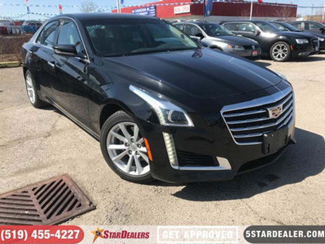 2017 CADILLAC CTS 2.0L Turbo   LEATHER   ONE OWNER   HEATED SEATS in London, Ontario