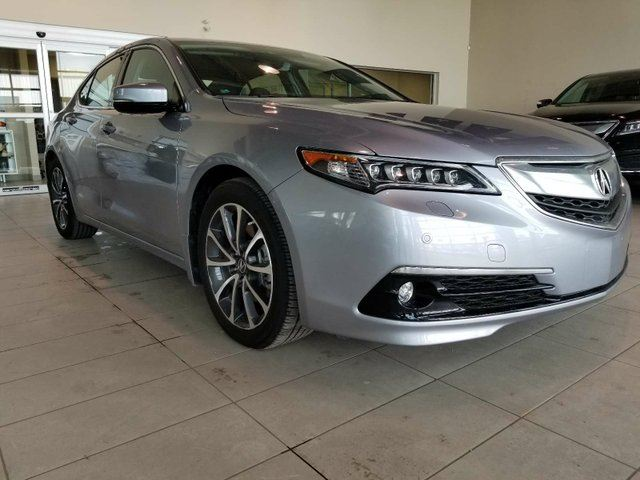 2015 ACURA TLX ADV - Heated Leather Seats, Sunroof, B/U Cam, Nav in Red Deer, Alberta