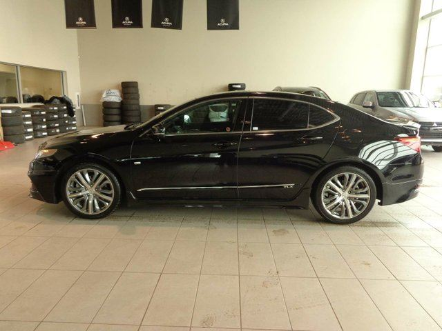 2016 ACURA TLX ELITE - Nav, B/U Cam, Sunroof, Heated Leather in Red Deer, Alberta