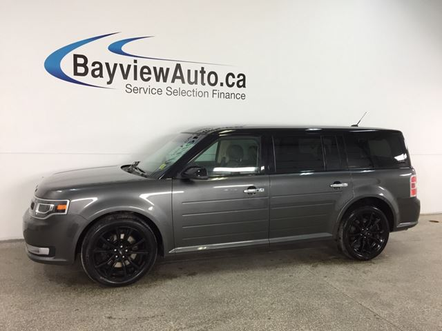 2018 FORD FLEX Limited - REM START! SUNROOF! HTD LEATHER! NAV! BLIS! SONY! PWR LIFTGATE! in Belleville, Ontario