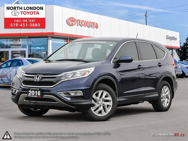 2016 HONDA CR-V SE One Owner, No Accidents in London, Ontario