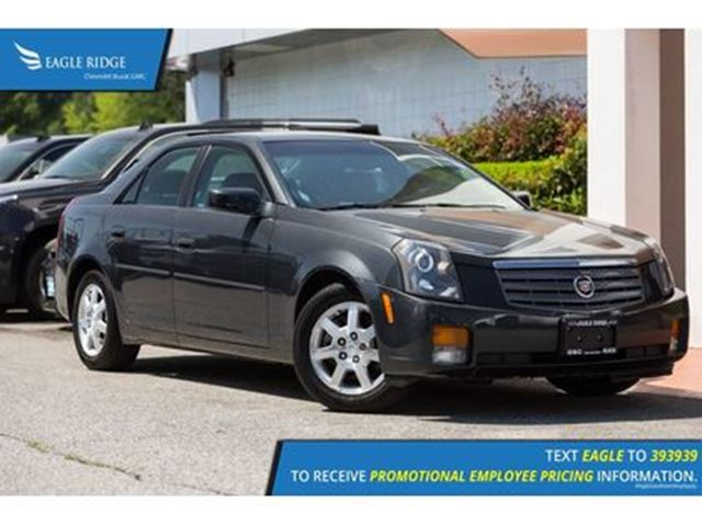 2005 CADILLAC CTS Luxury Heated Seats, Leather, Sunroof in Coquitlam, British Columbia