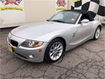 2005 BMW Z4 2.5i, Manual, Leather, Convertible, Only 89, 000km in Burlington, Ontario