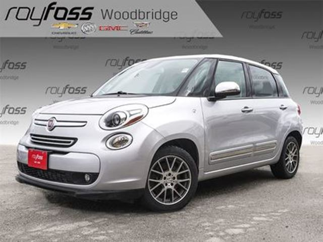 2014 FIAT 500L Lounge BEATS, SUNROOF, NAV, BACKUP CAM in Woodbridge, Ontario