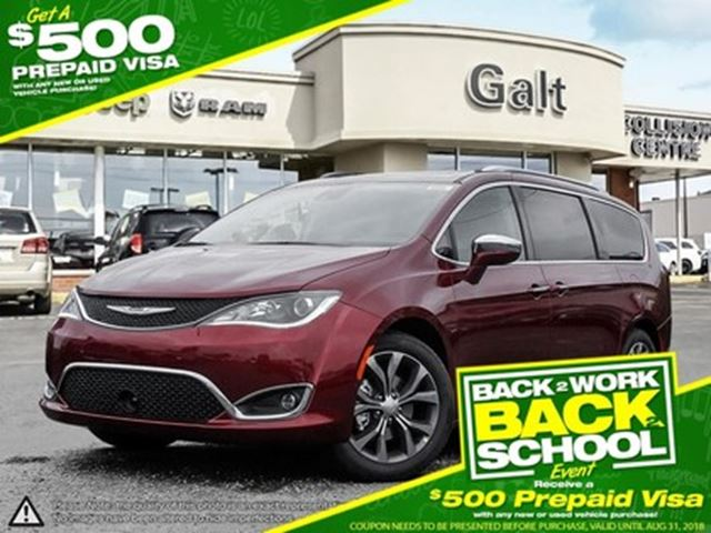 2017 CHRYSLER PACIFICA LIMITED   LEATHER BLUETOOTH KEY SENSE in Cambridge, Ontario