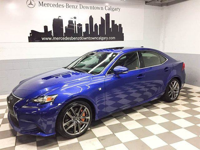 2014 LEXUS IS 350 AWD F Sport Executive Package in Calgary, Alberta