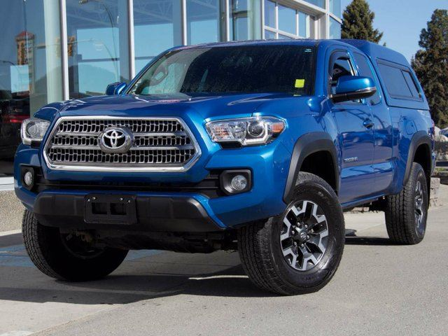 2016 TOYOTA TACOMA TRD Off Road 4dr 4x4 Access Cab in Kamloops, British Columbia