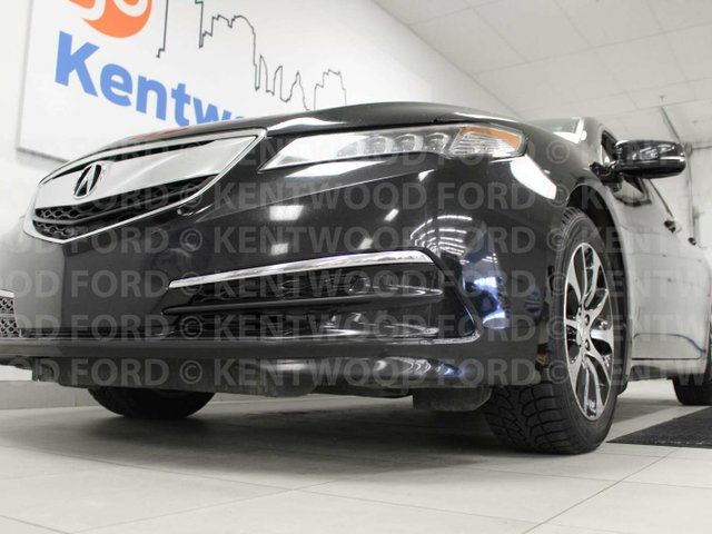 2015 ACURA TLX TLX- NAV, sunroof, heated power leather seats (in the back too!), lane departure, push start/stop in Edmonton, Alberta