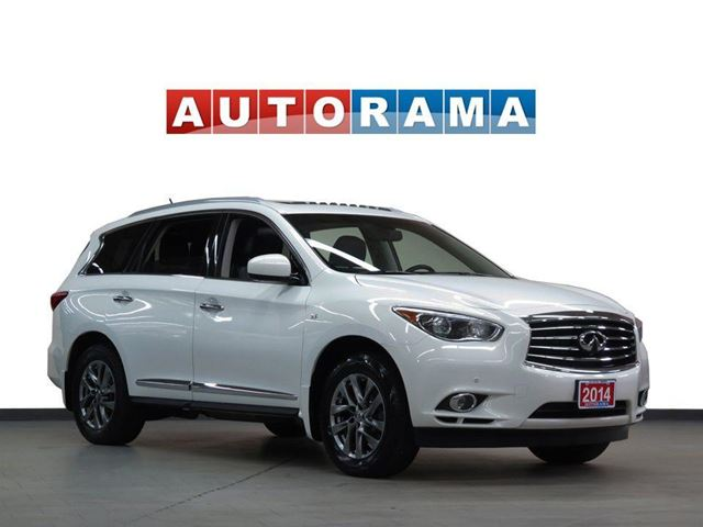 2014 INFINITI QX60 NAVIGATION LEATHER SUNROOF 7 PASS 4WD BACKUP CAM in North York, Ontario