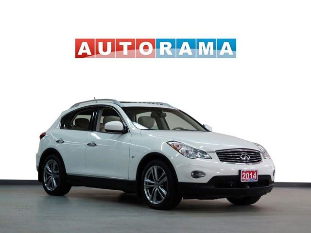 2014 INFINITI QX50 NAVIGATION LEATHER SUNROOF 4WD BACKUP CAMERA in North York, Ontario