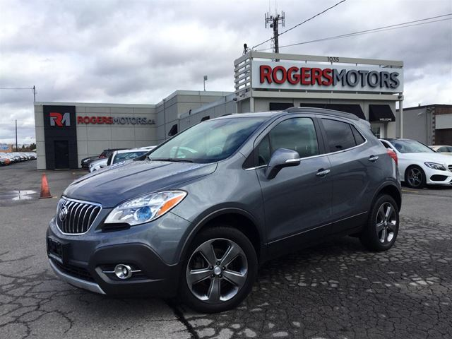2014 BUICK ENCORE AWD - LEATHER - REVERSE CAM in Oakville, Ontario
