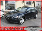 2007 Volvo V50 2.4i LEATHER SUNROOF !!!NO ACCIDENTS!!!  in Toronto, Ontario