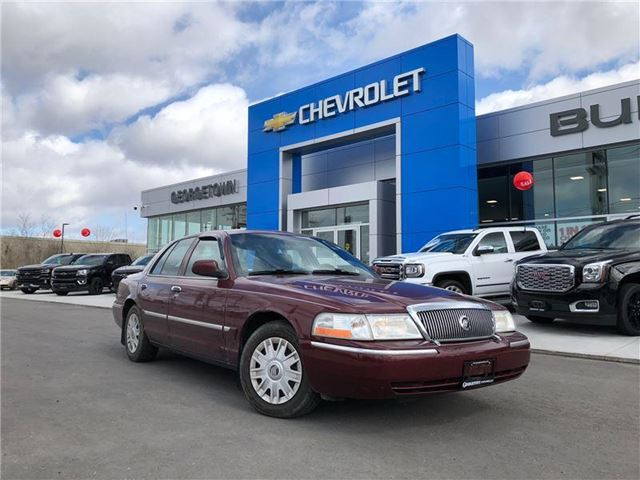 2005 MERCURY GRAND MARQUIS GS GS Convenience *2 SETS OF TIRES* in Georgetown, Ontario