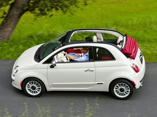 2016 FIAT 500 2dr Conv Lounge in Mississauga, Ontario