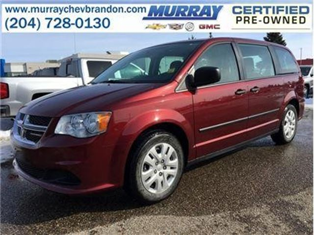 2016 Dodge Grand Caravan Canada Value Package in Brandon, Manitoba