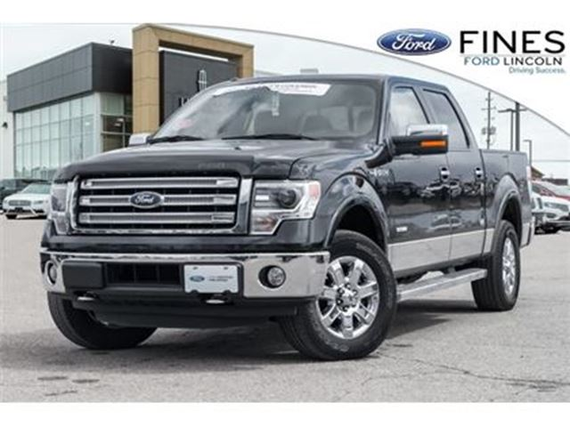 2014 FORD F-150 Lariat - FORD CERTIFIED W/EXT WARRANTY & FINANCING in Bolton, Ontario