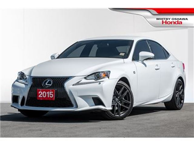 2015 LEXUS IS 250 F Sport Series 1   Automatic in Whitby, Ontario