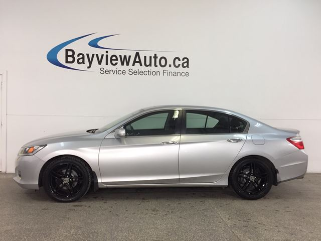 2015 HONDA ACCORD Sport - ALLOYS! SUNROOF! HTD STS! REV CAM! BLUETOOTH! in Belleville, Ontario