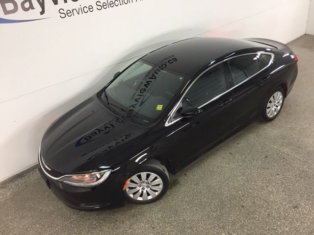 2015 CHRYSLER 200 LX - 2.4L! A/C! CRUISE! PWR GROUP! LOW KM!  in Belleville, Ontario